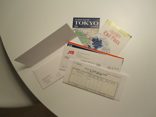 JR pass, Tokyo maps and studio Ghibli ticket