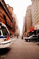 NY Street (GlossyEye.) Tags: world street camera new york city people mist ny lens photography lights photo interestingness nikon flickr shot panoramic explore 55mm grandcentralstation metropolis arquitecture skycraper nikond40 picnikorpicnic