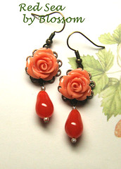 red sea-earrings
