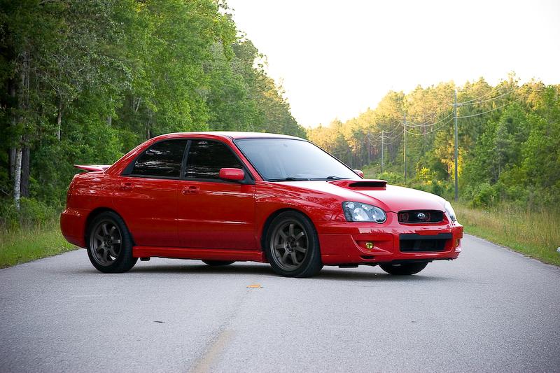 VWVortex com - FS: 2004 Subaru WRX Red