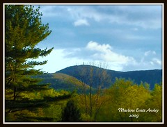 Mt. Greylock seen from North Adams