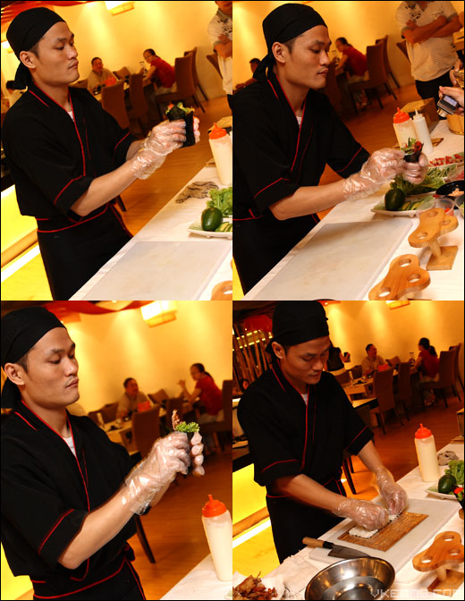 making-california-roll