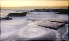 Whale Beach, Sydney (Christopher Chan) Tags: water sunrise canon rocks waves sydney australia nsw newsouthwales 1022mm 30d northernbeaches whalebeach snaptweet