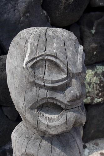 Tiki from Pu'uhonua o Honaunau