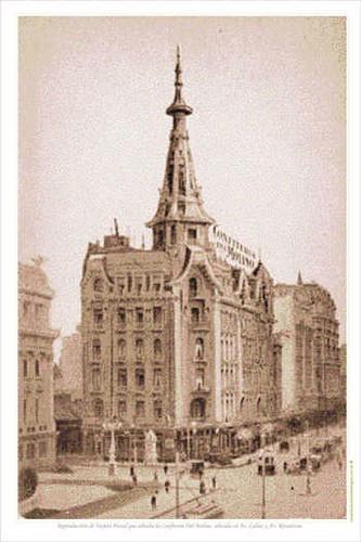 Garvure Confiteria del Molino de Buenos Aires en 1918