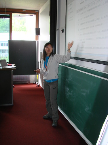 China-Session beim fucamp