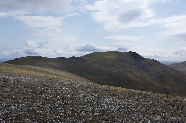 The ridge to Carn Mairg