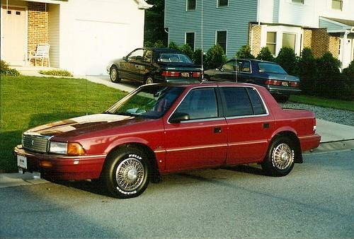 Dodge Spirit 1992. 1992 Plymouth Acclaim