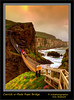 Carrick-a-Rede Rope Bridge (Irishphotographer) Tags: mountain water shoreline cliffs hdr antrimcoast kinkade carrickarederopebridge beautifulireland imagesofireland kimshatwell ©irishphotographer breathtakingphotosofnature beautifulirelandcalander wwwdoublevisionimageswebscom