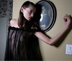 Fashion suspense (KenThurlbeck) Tags: woman fashion filmnoir lingere
