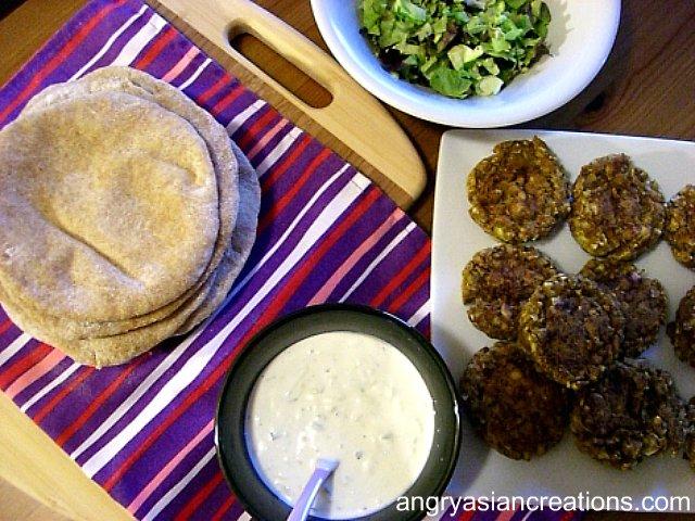 falafel/pita