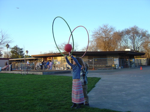 hoola-hooping
