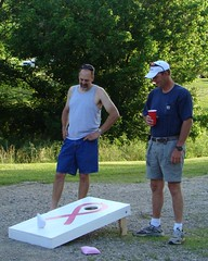 The Manly sport of Cornhole