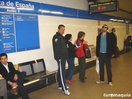 Metro de Madri