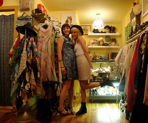 Jasmine and Tracy of Billie Goat Vintage