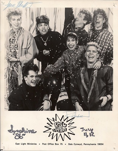 07/11 & 12/86 SonShine Festival @ Willmar, MN (Bash 'N' The Code Autographed 8X10 Promo Photo)