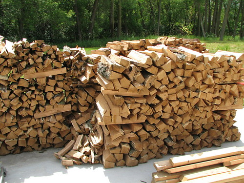lots of firewood