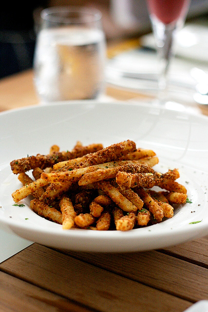 Crunchy Francese Frittura (S$10.80): Shoestring fries covered with extra crisp exotic spices
