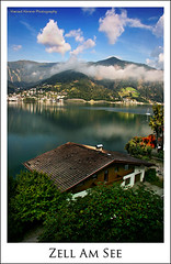 Zell Am See (Hamad Al-meer) Tags: blue sky cloud house lake tree green art home nature clouds canon landscape eos austria see am europe zellamsee hamad zell  30d      almeer  platinumphoto flickraward  hamadhd hamadhdcom wwwhamadhdcom