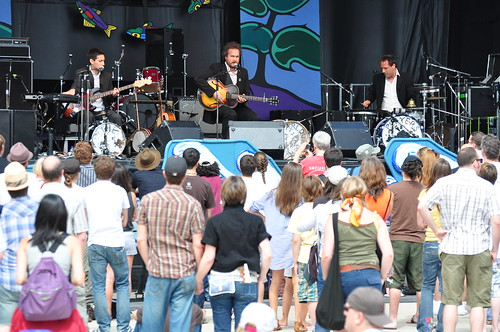 The Sunparlour Players at Ottawa Bluesfest 2009