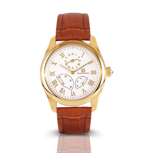 Dual Time Fly Back Automatic (Gold) (TW522G)