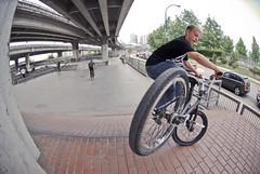 Johnny Bradley (brockanderson) Tags: street bike vancouver bmx bikes riding trick 2009