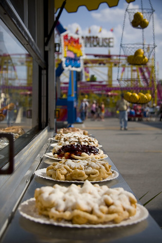 funnel cake alley