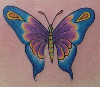borboletas tatoo