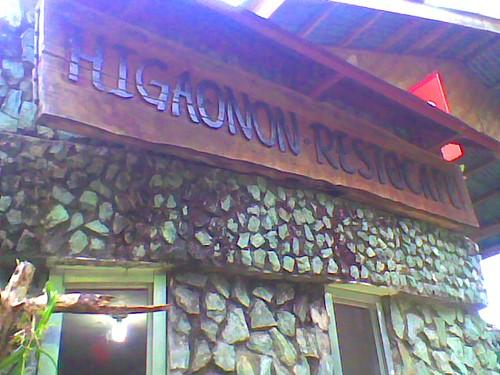 Higaunon Restocafe inside Gardens of Malasag