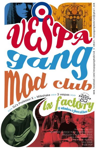 Vespa Gang Mod Club-festa reentré no LX Factory 12 Set 09