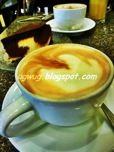 Hot Cappucino & Cake!
