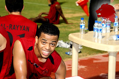 Al-Rayyan preparation for Umm Salal match in Shikh Jassim cup (A L R a h e e b . N e t) Tags: diane amara