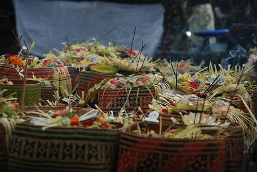 Galungan Holiday, Ubud, Bali, Indonesia