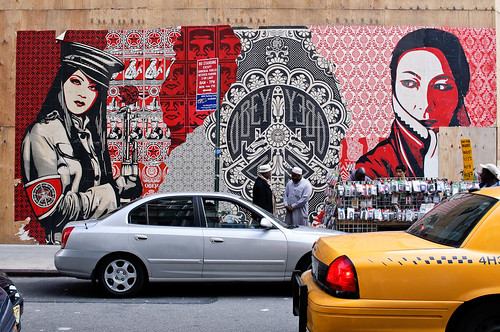 Shepard Fairey [29th & Broadway, NYC]