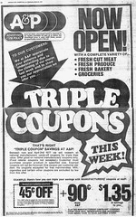 A&P Ad 033077 (JSF0864) Tags: newspaper ad ap strike grocery 1977