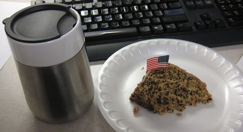 coffee, cake and flag day flag