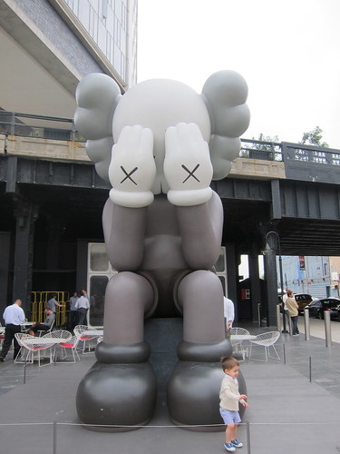NYC. KAWS. The Standard. by Making Deals Zine