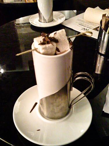 Hot chocolate at Co Co Sala