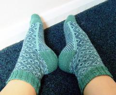 Endpaper socks