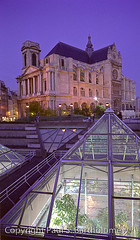 Le Halles, Paris 02 (Paul S Bartholomew) Tags: city travel paris france french photography evening photo europe photographer photos photographers lehalles