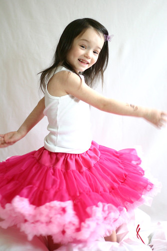 blushing buttercream petticoat skirt