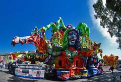 One Huge Float (Jean Marc Zerafa) Tags: carnival sky panorama colors colours pano malta float karnival stiched valletta bronk karru