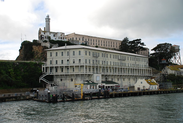 Arriving at Alcatraz