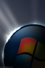 Windows Vista Logo iPhone Wallpaper