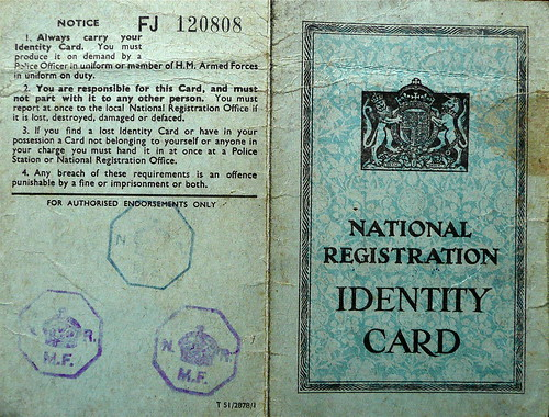 Identity and Ration Books