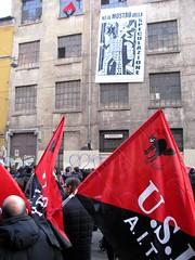 Milano: Manifestazione Centri Sociali (rogimmi) Tags: punk italia milano proteste fai usi manifestazione dimostrazione corteo centrisociali anarchia occupazione cox18 autogestione anarchici alternativi libertari acerchiata