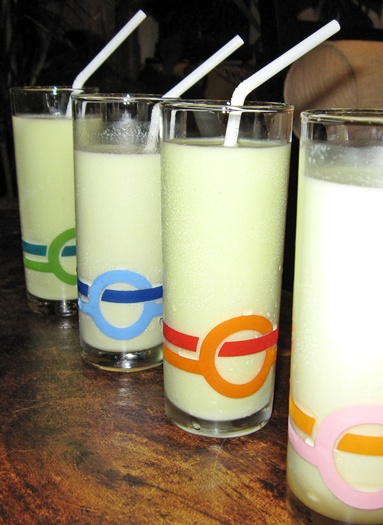 Avocado Milkshake Glasses