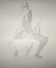 Shadow Study - Male Model