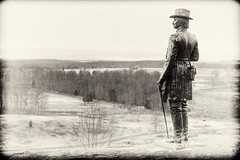 The General's View - Take 2 (MeckiMac) Tags: bw delete10 delete9 delete5 delete2 delete6 delete7 save3 delete8 delete3 delete delete4 save save2 save4 gettysburg vintagetonemapped