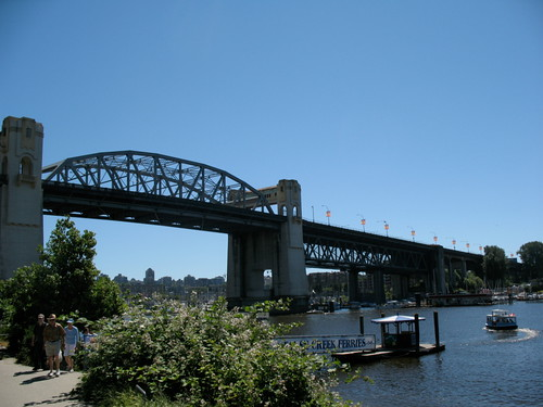 Burrard Bridge from Sunset Beach